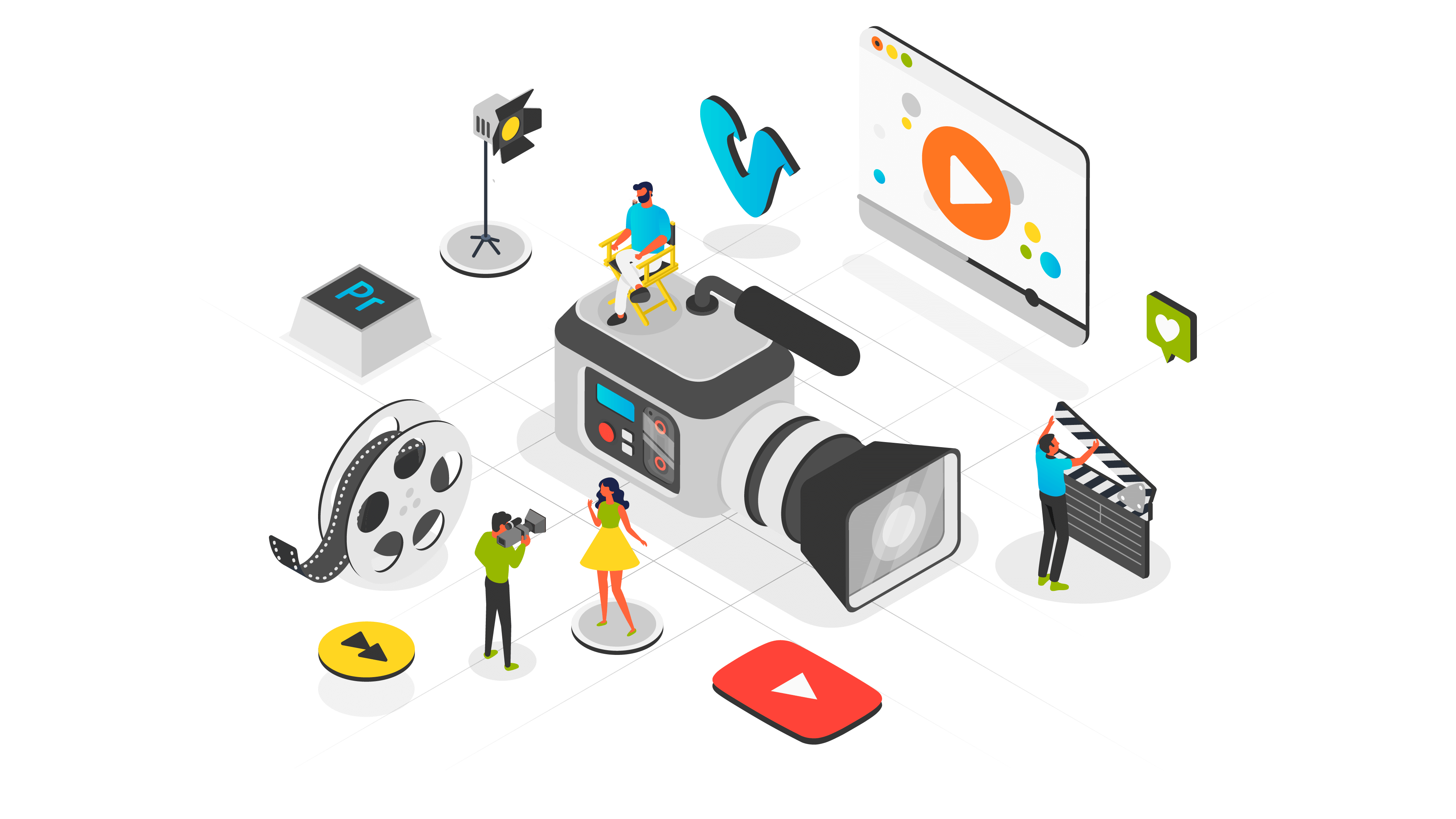 Animated Video Production: Is The Future And Will Take Care Of You